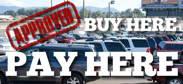 Buy Here Pay Here car financing dealerships