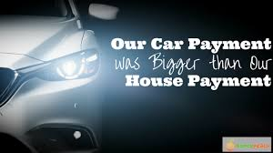 Buying a car by paying a down payment