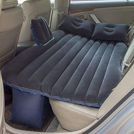 car bed for back seat with best air mattress