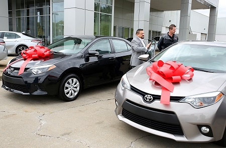 Toyota car donation program