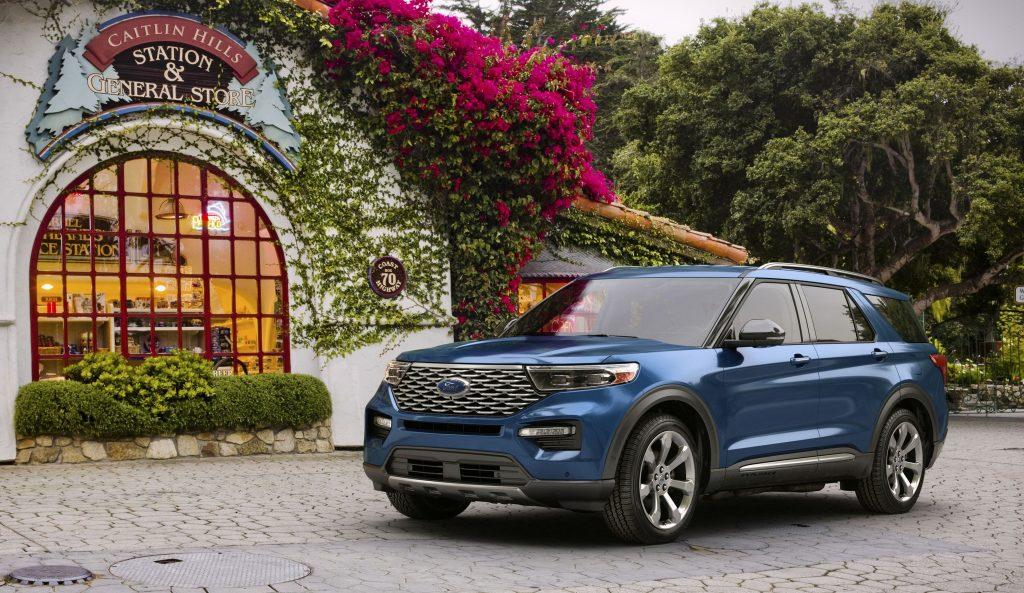 Best Ford Explorer Lease Deals